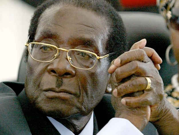 All that is best about us on our best day...hmmm, maybe not. Robert Mugabe, President of Zimbabwe - and perhaps hero to some, but hardly a figure of universal acclaim.